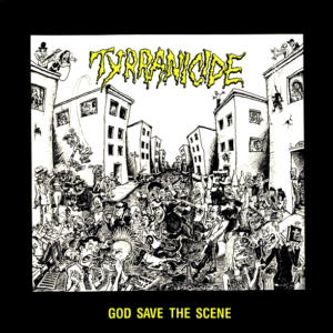 God Save The Scene LP cover