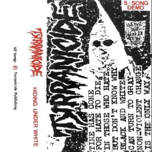 Hiding Under White Demo cover 1986